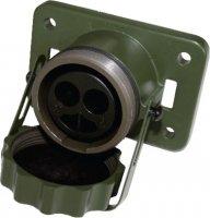 24V NATO SOCKET BOX 2-PIN VG96917 (5935-12-307-1277) (1PC)