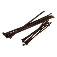 CABLE TIE BLACK 4.8X300 (100PCS)