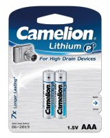 CAMELION LITHIUM AAA 1.5V BLISTER (2PCS)