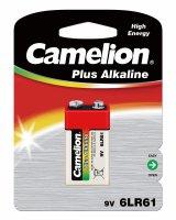 CAMELION PLUS ALKALINE 9V/6LR61 BLISTER (1PC)