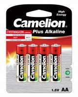 CAMELION PLUS ALKALINE AA/LR6 BLISTER (4PCS)