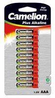 CAMELION PLUS ALKALINE AAA/LR03 BLISTER (10PCS)
