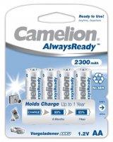 CAMELION RECHARGEABLE AA/LR6 2300MAH BLISTER (4PCS)