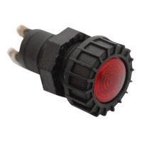 CONTROL LIGHT RED 24V (1PC)