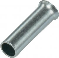 CORD END TERMINAL UNINSULATED L=8 2,5MM2 (1000)
