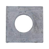 D434 SQUARE TAPER WASHER 8% HOT DIPPED GALVANIZED M10 (200)