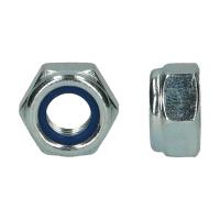 D985 |6| HEXAGON LOCKNUT ZINC PLATED UNC 1.1/8-7 (5)
