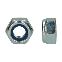 D985 |6| HEXAGON LOCKNUT ZINC PLATED UNF 1.1/8-12 (5)