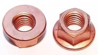 DIN 6927 FLANGE SELF-LOCKING EXHAUST NUT M8X1,25 HEX13 (100)
