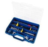 EMPTY COMPARTMENT BOX BLUE 45-26 312X278X51MM (1PC)