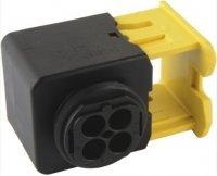 HDSCS CONNECTOR HOUSING MCP2 8MM 4-POLE (1PC)