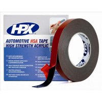 HPX DOUBLE-SIDED HSA MOUNTING TAPE - ANTHRACITE 19MMX10M (1PC)