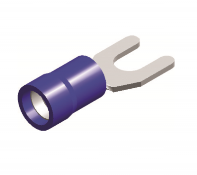 forktype cable lugs