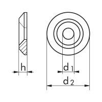 PA 6.6 KRAALRRING GESLOTEN MODEL WIT M5 (50)