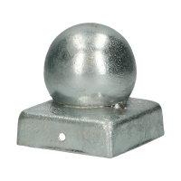 POLE COVER WITH BALL 91X91 HDG