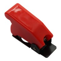 PREVENTION PROTECTIVE COVER FOR SWITCHS RED (1PC)