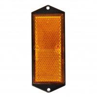 REFLECTOR ORANGE 104X40MM SCREW MOUNTING (1PC)