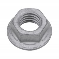 RIPP |10| HEXAGON NUTS WITH FLANGE WITH LOCK RIBS UNDER THE FLANGE FLZNNC-NC6 M10 (200)
