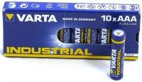 VARTA INDUSTRIAL BATTERY AAA 10-PACK (1PC)