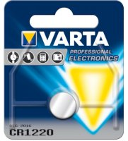 VARTA PRO 3V LITHIUM BUTTON CELL CR1220 BLISTER (1PC)