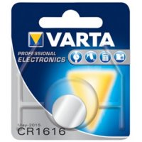 VARTA PRO 3V LITHIUM BUTTON CELL CR1616 BLISTER (1PC)
