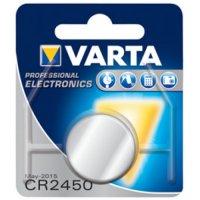 VARTA PRO 3V LITHIUM BUTTON CELL CR2450 BLISTER (1PC)