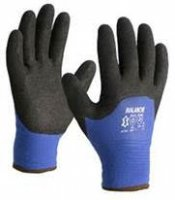 WINTER GLOVE LINED BLUE BLACK NITRIL COATING MT10 (1 PAIR) (1PC)